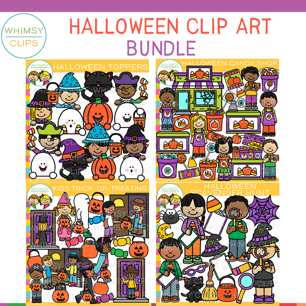 Fun Halloween Clip Art Bundle