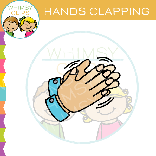 Hands Clapping Clip Art