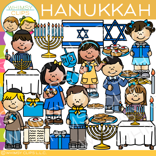 Hanukkah Holiday Clip Art