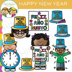Happy New Year Clip Art