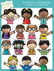 Everyday Sidekicks Clip Art