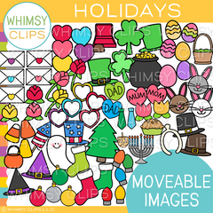 Moveable Holiday Clip Art