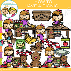 Teddy Bear Picnic Clip Art