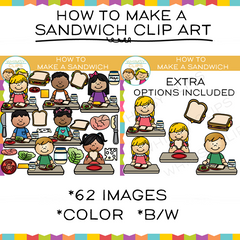 How to Make a Sandwich Clip Art