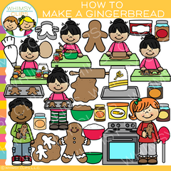 Make A Gingerbread Man Clip Art