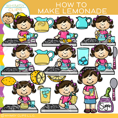 How To Make Lemonade Clip Art