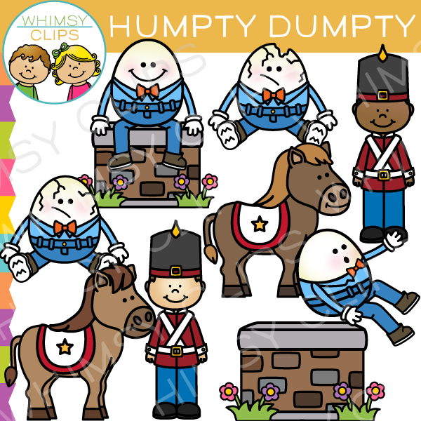 humpty dumpty nursery rhyme clip art images illustrations rh whimsyclips com humpty dumpty rhyme clipart humpty dumpty clipart free