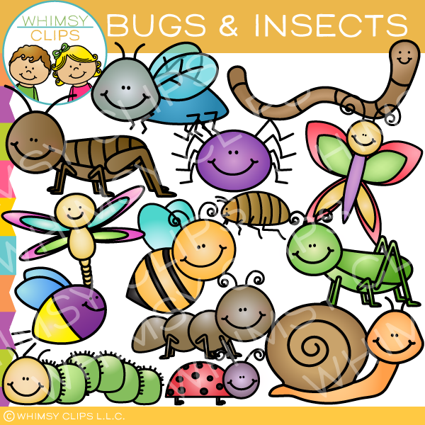 Insects and Bugs Clip Art