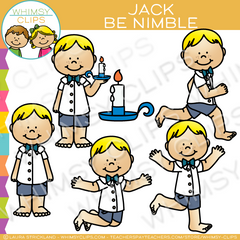 Jack Be Nimble Clip Art