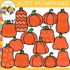 Just Pumpkins Clip Art