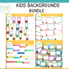 Kids Backgrounds GROWING Bundle