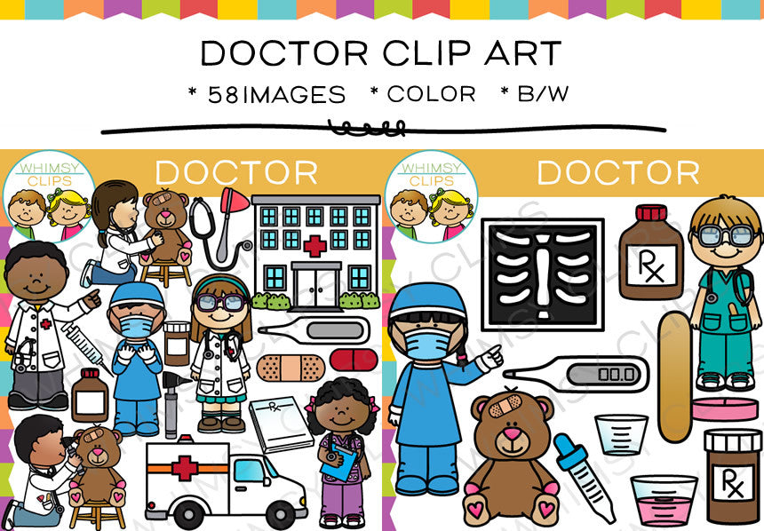 Kids Doctor Clip Art