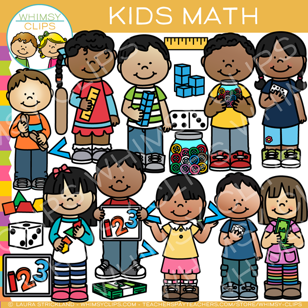 Kids Math Clip Art