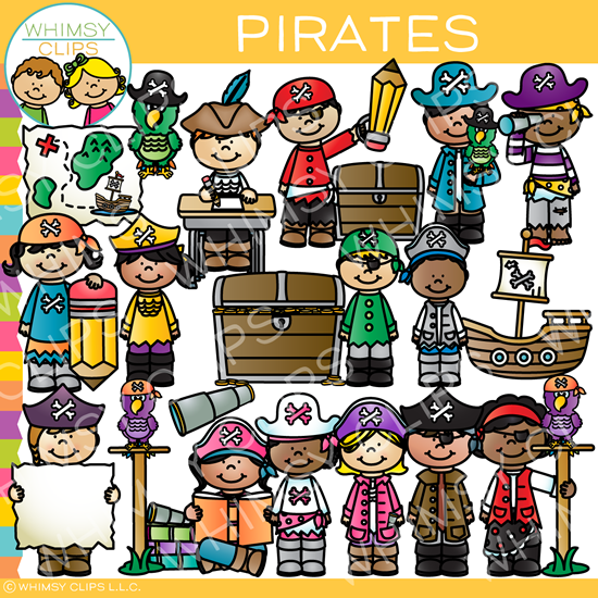 Kids Pirate Clip Art