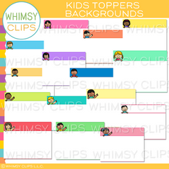 Kids Topper Backgrounds