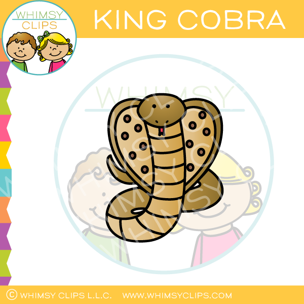 King Cobra Snake Clip Art
