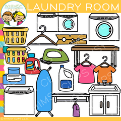 Pieces Of Laundry Room Clip Art Images Amp Illustrations