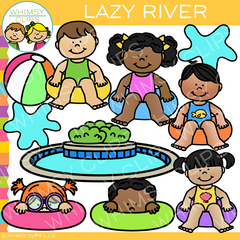 Lazy River Clip Art