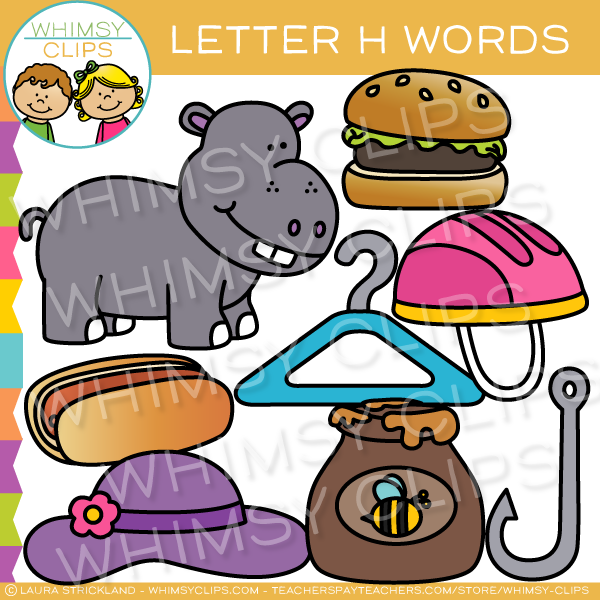 food that starts with the letter h food that starts with the letter h world of example 21757 | letter h sound alphabet clip art Whimsy Clips