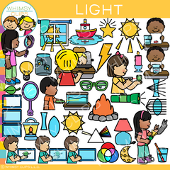 Light Clip Art - Form of Energy