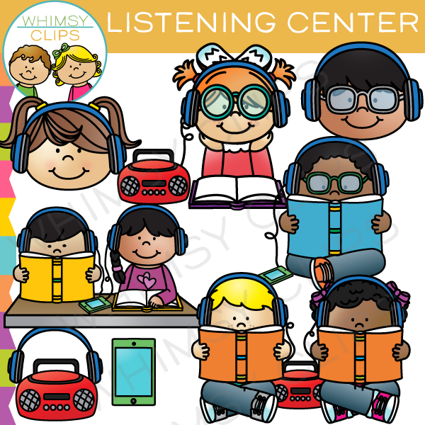 Listening Center Clip Art