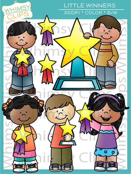 Little Winners Clip Art