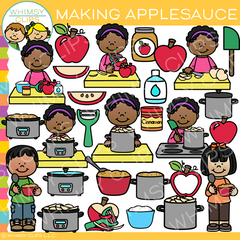 How to Make Applesauce Clip Art