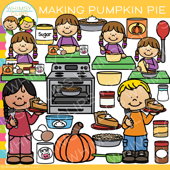 How to Make Pumpkin Pie Clip Art