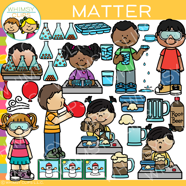 Science Matter Clip Art