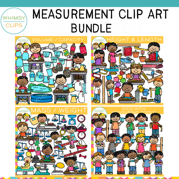 Measurement Clip Art Bundle