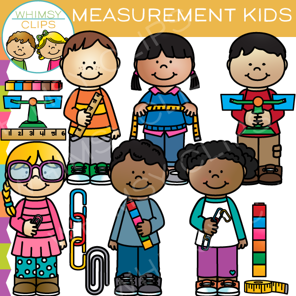 Measurement Kids Clip Art