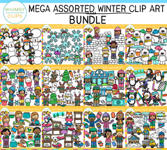 Assorted Winter Clip Art