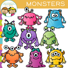 Monster Clip Art