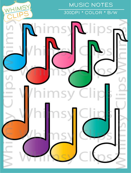 Free Music Notes Clip Art