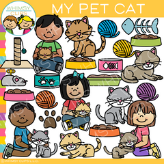 My Pet Cat Clip Art