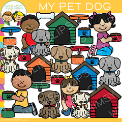 My Pet Dog Clip Art