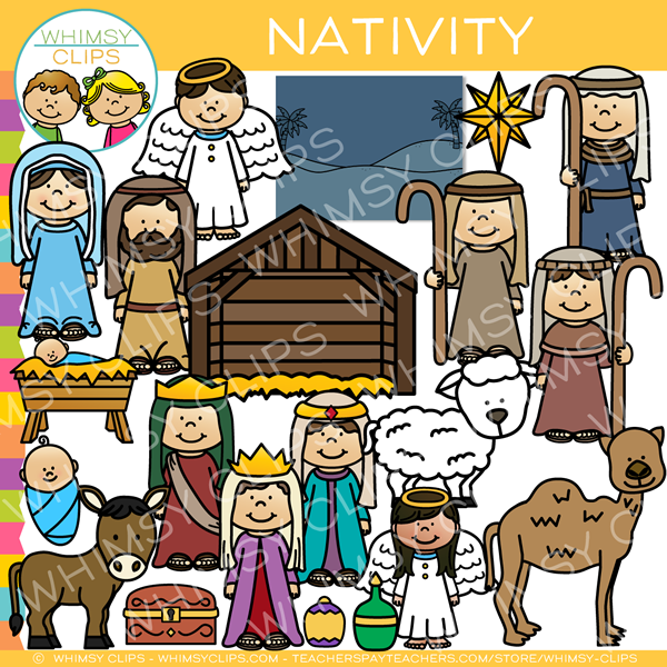 Christmas Nativity Clip Art