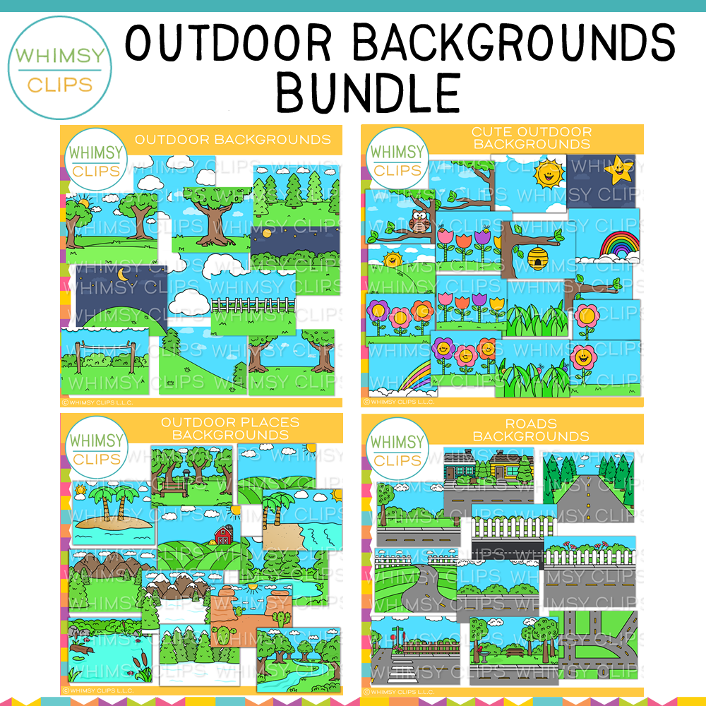Outdoor Backgrounds Bundle
