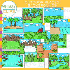 Outdoor Places Backgrounds