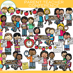 Parent Teacher Conference Clip Art