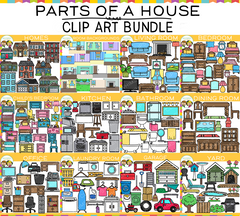 Parts of a House Clip Art