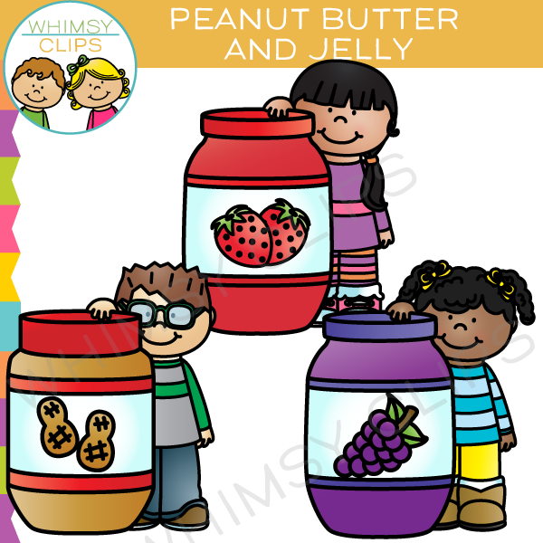 peanut butter and jelly clip art images illustrations whimsy rh whimsyclips com peanut butter and jelly sandwich clipart Peanut Butter and Jelly Cartoon