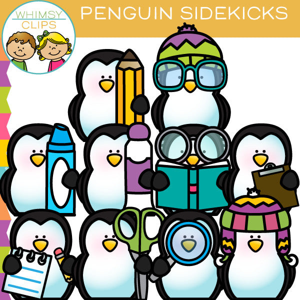 Penguin Sidekicks Clip Art