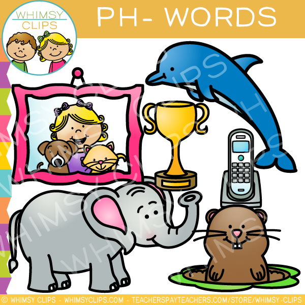 ph words clip art volume one images illustrations whimsy clips rh whimsyclips com words clip art black and white world clipart