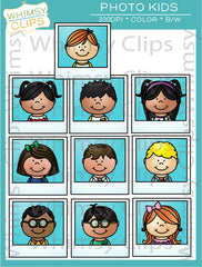 Photo Kids Clip Art