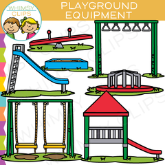 Playground Equipment Clip Art