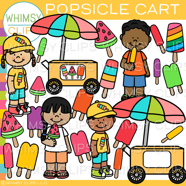 Summer Popsicle Clip Art