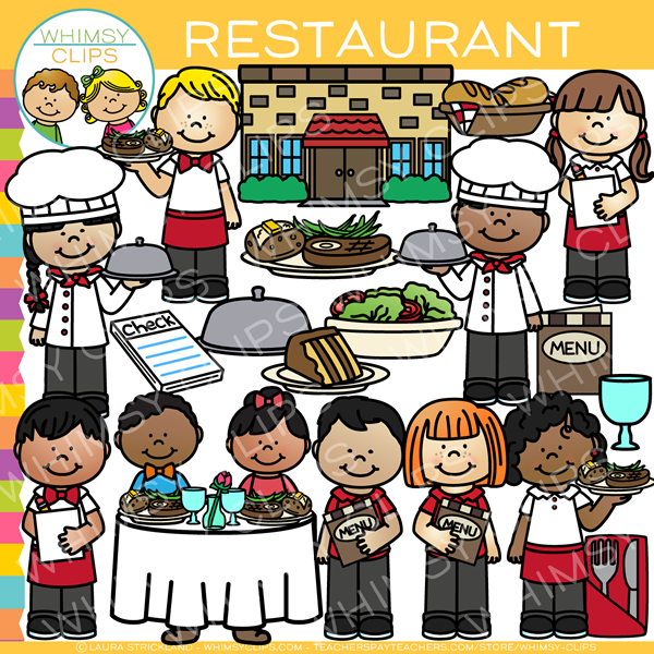 fun restaurant clip art images illustrations whimsy clips rh whimsyclips com restaurant clipart black and white restaurant clipart images