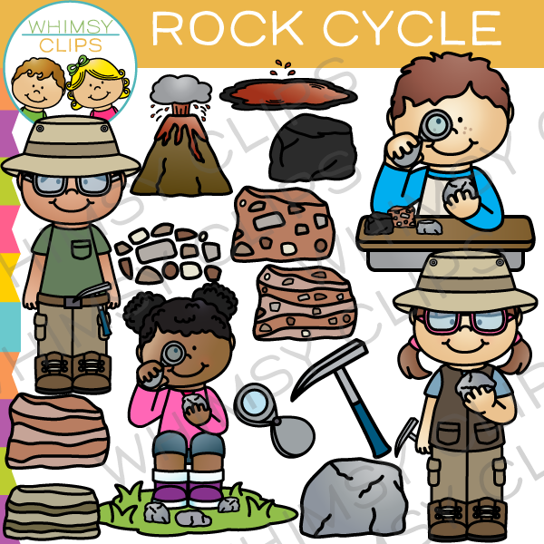 Rock Cycle Clip Art