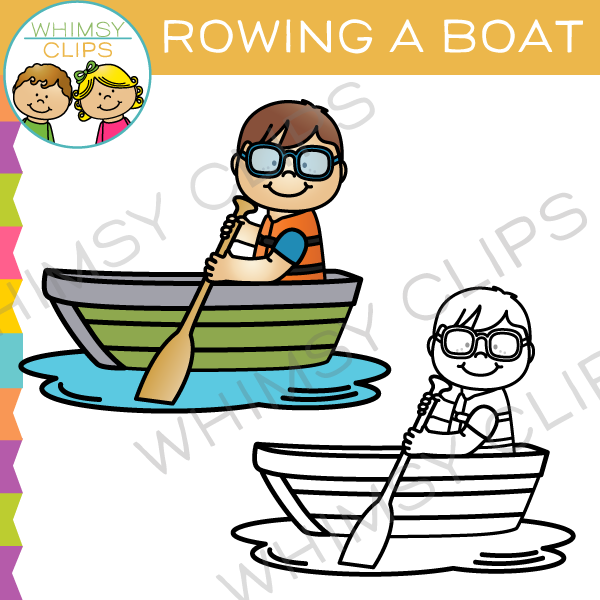rowing a boat clip art images illustrations whimsy clips rh whimsyclips com rowing clipart images rowing clipart free